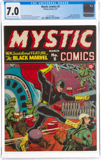 Mystic Comics #5 (Timely, 1941) CGC FN/VF 7.0 Cream to off-white pages