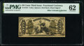Fractional Currency:Third Issue, Fr. 1355 50¢ Third Issue Justice PMG Uncirculated 62.. ...