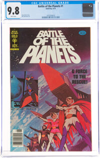 Battle of the Planets #1 (Gold Key, 1979) CGC NM/MT 9.8 White pages