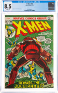 Bronze Age (1970-1979):Science Fiction, X-Men #80 (Marvel, 1973) CGC VF+ 8.5 Off-white pages....