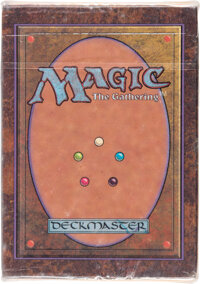 Magic: The Gathering Alpha Edition Sealed Starter Deck (Wizards of the Coast, 1993)