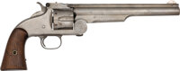 Rare U.S. Smith & Wesson Model 3 American Single Action Revolver with Roy Jinks Letter
