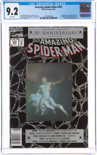 The Amazing Spider-Man #365 Newsstand Edition (Marvel, 1992) CGC NM- 9.2 White pages