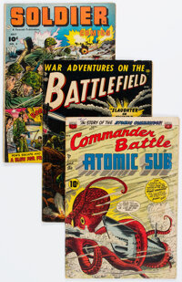 Golden Age War Comics Group of 22 (Various Publishers, 1950s) Condition: Average VG.... (Total: 22 Comic Books)