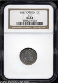 Bust Dimes: , 1837 10C MS61 NGC. JR-2, R-3. The diagnostics of this ...