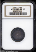 Proof Seated Quarters: , 1873 25C No Arrows PR62 NGC. Only 600 proof No Arrows ...