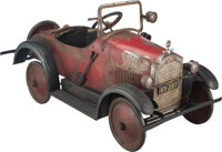 Steelcraft Packard Eight Roadster Pedal Car, Cleveland, Ohio, circa 1924-1925 Mar
