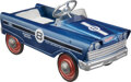 Collectible, Murray Flat Face Eight Super Sport Pedal Car, Cleveland, Ohio. Marks: 8, BALL BEARING, SUPER SPORT, (license...