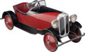 Collectible, Jerry Anderson Custom Auburn Boattail Speedster Pedal Car. Marks: AUBURN. 57-1/2 x 21 x 21 inches (146.1 x 5...