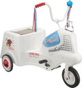 Collectible, Murray Model L-950 Good Humor Truck Pedal Tricycle, Murray, Ohio, circa 1955. 38 x 30 x 21 inches (96.5 x 76.2 x...