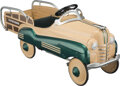 Collectible, Murray Woody Station Wagon Pedal Car, Cleveland, Ohio, circa 1955 . Marks: Station Wagon. 44-1/2 x 21-1/2 x ...