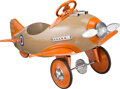 Collectible, Steelcraft Sopwith Camel Pedal Airplane, Cleveland, Ohio, circa 1955. Marks: NP114. 48 x 35 x 25 inches (121...