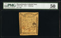 Colonial Notes:Massachusetts, Massachusetts 1779 2s PMG About Uncirculated 50.. ...
