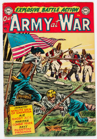Our Army at War #13 (DC, 1953) Condition: FN+