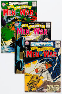All-American Men of War Group of 6 (DC, 1956-65) Condition: Average FN.... (Total: 6 Comic Books)