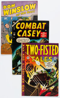 Golden Age War Comics Group of 11 (Various Publishers, 1950s) Condition: Average FN.... (Total: 11 Comic Books)