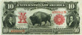 Large Size:Legal Tender Notes, Fr. 115 $10 1901 Legal Tender PMG Choice Very Fine 35.. ...