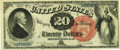 Large Size:Legal Tender Notes, Fr. 134 $20 1880 Legal Tender PMG Extremely Fine 40.. ...