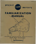 Explorers:Space Exploration, Project Mercury NASA Familiarization Manual SEDR104, Dated December 1, 1962, by McDonnell Aircraft Corporation, fo...