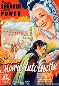 """Movie Posters:Drama, Marie Antoinette (MGM, 1939). Folded, Very Fine+. Full-Bleed Swedish One Sheet (27"""" X 39.25"""").. ..."""
