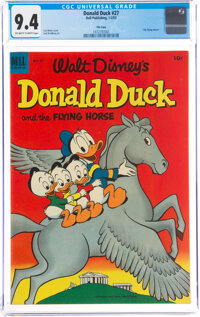 Donald Duck #27 File Copy (Dell, 1953) CGC NM 9.4 Off-white to white pages