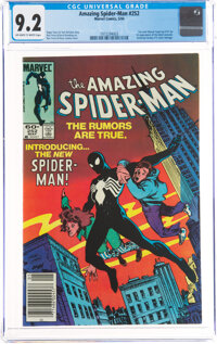 The Amazing Spider-Man #252 (Marvel, 1984) CGC NM- 9.2 Off-white to white pages
