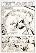 Original Comic Art:Story Page, Joe Staton and Murphy Anderson Superboy and the Legion of Super-Heroes #245 Story Page 21 Original Art (DC, 1978)....