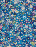 Prints & Multiples, Takashi Murakami (b. 1962). An Homage to IKB, 1957 F, 2020. Offset lithograph in colors on smooth wove paper. 27 x 20-3/...