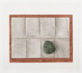 Prints & Multiples, K.B. (Kyu-Baik) Hwang (b. 1932). Wood, Paper, and Stone, and Two Leaves (two works), 1979. One aquatint and one mezz... (Total: 2 Items)