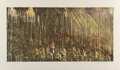 Prints & Multiples, Pat Steir (b. 1938). Long Horizontal, 1991. Aquatint with soft ground etching and spitbite in colors on paper. 30 x 51 i...