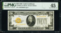 Fr. 2402 $20 1928 Gold Certificate. PMG Choice Extremely Fine 45