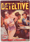 Pulps:Detective, Spicy Detective Stories - March 1938 (Culture) Condition: VG/FN....