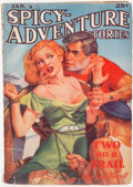 Pulps:Adventure, Spicy Adventure Stories - January 1938 (Culture) Condition: VG+....