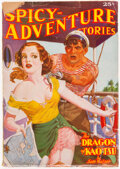 Pulps:Adventure, Spicy Adventure Stories - September 1936 (Culture) Condition: VG-....