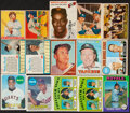 Baseball Cards:Lots, 1933-75 Multi-Brand Baseball Collection (15) With Stars & ...