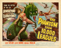 """Movie Posters:Science Fiction, The Phantom from 10,000 Leagues (American Releasing Corp., 1955). Rolled, Very Fine. Half Sheet (22"""" X 28"""") Albert Kallis Ar..."""