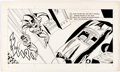 Original Comic Art:Story Page, Batman and Robin: From Alfred to Zowie Illustration Pages 2 and 3 Original Art (Western Publishing/Golden Press, 1966)...
