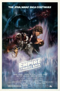 Movie Posters:Science Fiction, The Empire Strikes Back (20th Century Fox, 1980). Rolled, ...