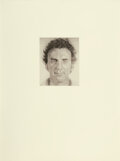 Works on Paper, Chuck Close (b. 1940). Don N., 1975. Ink and pencil on Arches paper. 30 x 22 inches (76.2 x 55.9 cm). Signed, dated, and...