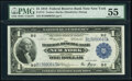 Fr. 712 $1 1918 Federal Reserve Bank Note PMG About Uncirculated 55