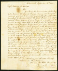 Portsmouth, NH - Maritime Instructions to Captain Parrott. Sept. 26, 1803. Not graded