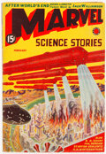 Pulps:Science Fiction, Marvel Science Stories - February 1939 (Red Circle) Condition: VF-....