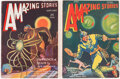 Pulps:Science Fiction, Amazing Stories Group of 2 (Ziff-Davis, 1930-31).... (Total: 2 Items)