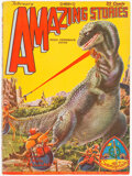 Pulps:Science Fiction, Amazing Stories - February 1929 (Ziff-Davis) Condition: VG....