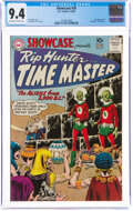 Silver Age (1956-1969):Superhero, Showcase #26 Rip Hunter... Time Master (DC, 1960) CGC NM 9.4 Off-white to white pages....