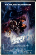 Movie Posters:Science Fiction, The Empire Strikes Back (20th Century Fox, 1980). Rolled, Very Fine+. Composite Overlay International One Sheet Printer's Pr...