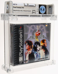 Final Fantasy VIII - Wata 9.8 A++ Sealed [Sony Security Label], PS1 Squaresoft 1999 USA