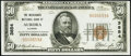 Aurora, IL - $50 1929 Ty. 1 The Merchants National Bank Ch. # 3854 About Uncirculated