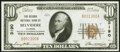 Belvidere, IL - $10 1929 Ty. 1 The Second National Bank Ch. # 3190 Choice Crisp Uncirculated