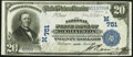 National Bank Notes:Iowa, Burlington, IA - $20 1902 Date Back Fr. 642 The National State Bank Ch. # (M)751 Very Fine.. ...
